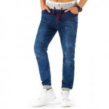 Pohodlné stylové pánské jeansy (džíny) světle modré