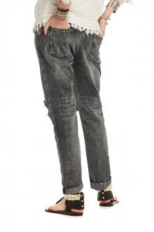Scotch&Soda šedé džíny s nízkým sedem  - 25/32