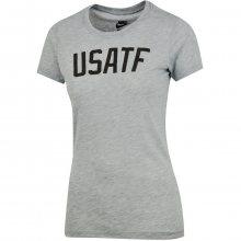 Nike Tee-Ru Usatf Bold šedá M