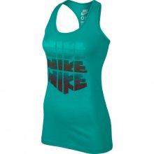 Nike Tank-Ru Stack zelená XS