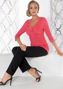 Dámské pyžamo Donna Sandra 3XL Korálová2
