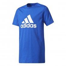 adidas Yb Logo Tee modrá 128