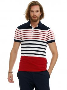 Galvanni Pánské polo tričko GLVSM12130091_Dress Blues Multi Striped\n					\n