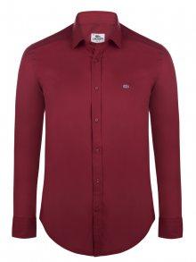 Bordó elegantní košile od Lacoste Velikost: L
