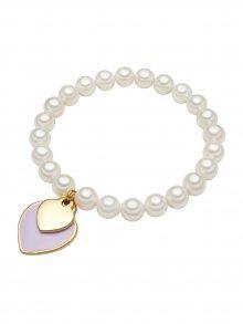 Perldesse Dámský perlový náramek s přívěsky 60350416\n\n
