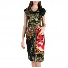 Barevné šaty Desigual Velikost: XS