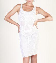 Bílé šaty Philipp Plein Velikost: S