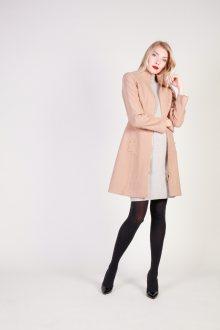 Béžový kabát JOLE Fontana 2.0 Barva: hnědá, Velikost: 42