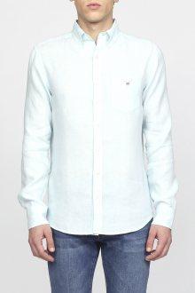Košile GANT THE LINEN SHIRT REG BD