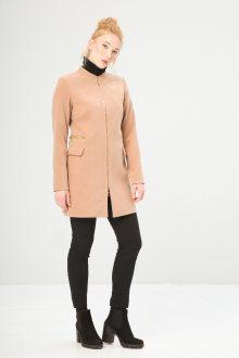 Béžový kabát Fontana 2.0 Velikost: 42