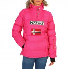 Růžová bunda Geographical Norway Velikost: 4