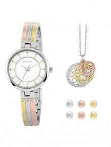 Pierre Cardin Sada hodinek, náhrdelníku a 3 párů náušnic 20172106\n\n