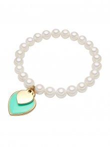 Perldesse Dámský perlový náramek s přívěsky\n\n