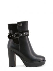 Laura Biagiotti Kotníkové boty na podpatku 5124L_BLACK\n\n