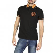Černo-oranžová polokošile Versace Jeans Velikost: 46