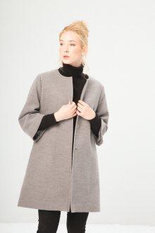 Šedý kabát Fontana 2.0 Velikost: 44
