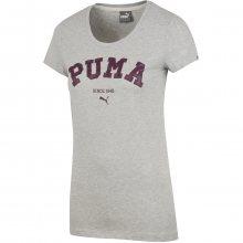 Puma Style Personal Best ATHL Tee W šedá M