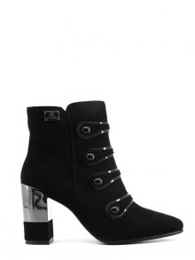 Laura Biagiotti Kotníkové boty na podpatku 5116L_BLACK\n\n