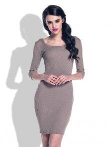 Fobya Dámské šaty F371_Cappuccino\n\n