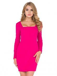 La Luna Dámské šaty LL16/4_dark pink\n\n
