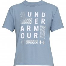Under Armour Graphic Girlfriend Crew modrá XS