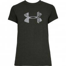 Under Armour Graphic Q4 Classic Crew zelená XS