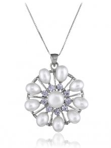 Orchira Dámský náhrdelník BB-NP-054-Medal-WH\n\n