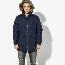Adidas Bunda Xploric Parka Sw Insulation Muži Oblečení Zimní Bundy Cy8602 Muži Oblečení Zimní Bundy Tmavomodrá US L