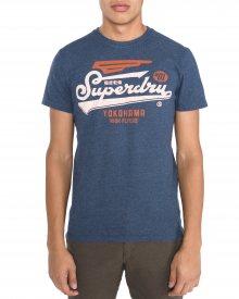 Triko SuperDry | Modrá | Pánské | L
