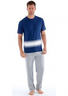 Pánské pyžamo Fordville MN000186 L Blu