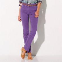 Blancheporte Kalhoty pro úzký obvod boků fialová 36