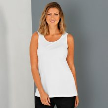 Blancheporte Top z čisté bavlny bílá 34/36