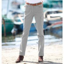 Blancheporte Rovné kalhoty s kapsami šedá 36