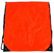 Pytlík do tělocviku / na cvičky jednobarevný stahovatelný oranžový 3H02 - oranžový