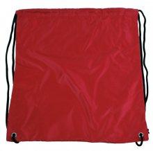 Pytlík do tělocviku / na cvičky jednobarevný stahovatelný červený 3H02 - červená