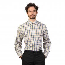 Modro-žlutá košile Brooks Brothers Velikost: L