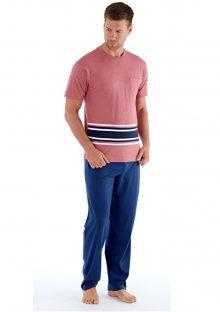 Pánské pyžamo Fordville MN000186 L Korálová2