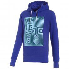 Puma Logo Hoody modrá L