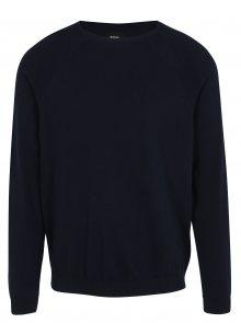 Tmavě modrý lehký svetr Burton Menswear London