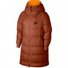 Nike W Down Fill Jacket Rev hnědá S