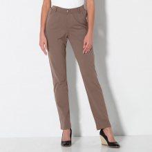 Blancheporte Ultrastrečové úpletové kalhoty šedá 36