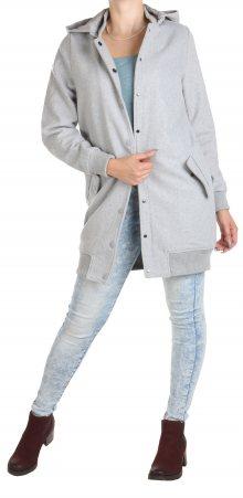 Dámský šedý kabát Rock Angel