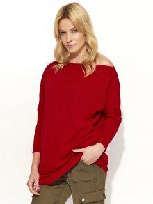 Makadamia Dámský svetr s51_red\n\n
