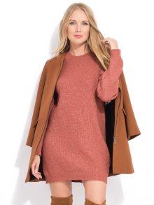 LA FILLE DU COUTURIER Dámské šaty ANETTE K1052 ROUILLE\n\n