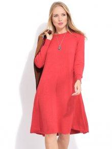 LA FILLE DU COUTURIER Dámské šaty SUZIE K1026 PAPRIKA\n\n