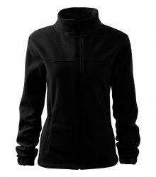 Dámská fleecová mikina Jacket - Černá   XL