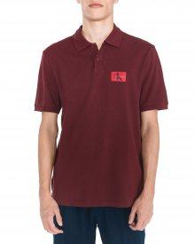 Polo triko Calvin Klein | Červená | Pánské | L