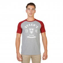 Šedo-červené tričko Oxford University Velikost: M