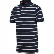Brakeburn Stripe Polo modrá M
