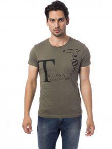 Trussardi Collection Pánské tričko M5 CODIGORO_Verde Mil/Ml. Green\n\n